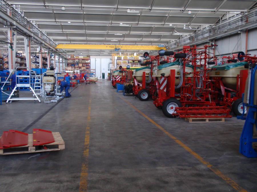La fábrica de Aguirre Maquinaria Agrícola