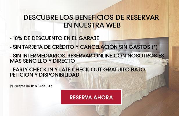 Oferta Reserva Hotel online Pamplona Navarra